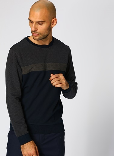 Cotton Bar Sweatshirt Bej